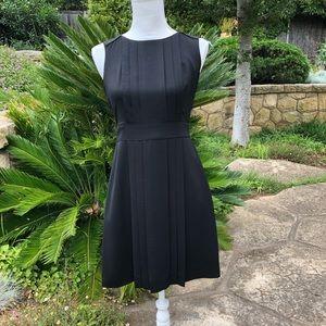 Banana Republic Pleated Sleeveless Mini Dress